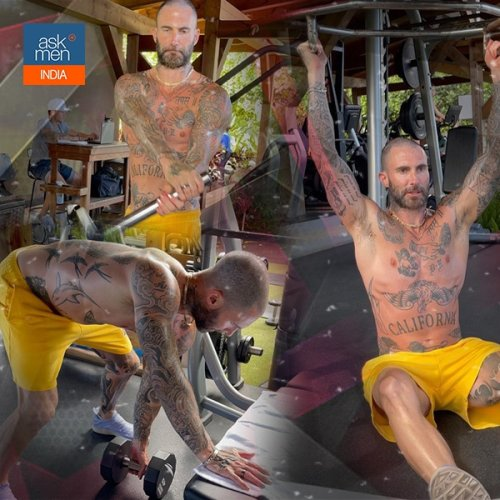 Maroon 5 Lead Singer Adam Levine's Core Strengthening Workout Is Simple And Innovative