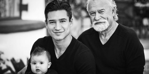 Mario Lopez Has a Lot on His Plate — Just How He Wants It