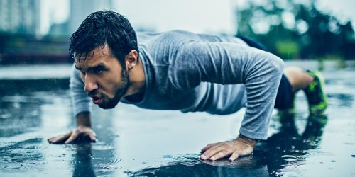 This Intense Bodyweight Workout Will Kick Your Ass Into Shape