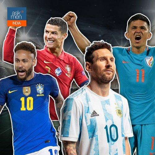 Cristiano Ronaldo, Sunil Chhetri, Lionel Messi And 4 Other Leading International Goalscorers
