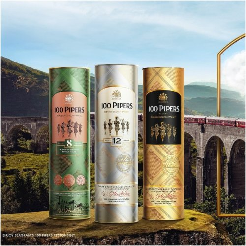 5 Reasons To Enter The World Of Scotch Whisky With 100 Pipers