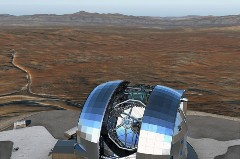 Discover giant telescope
