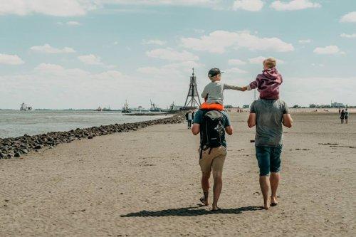 Wattwandern Cuxhaven – Familientour zur Kugelbake