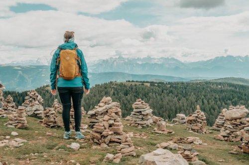 Spektakuläre Wanderung: Stoanerne Mandln in Südtirol