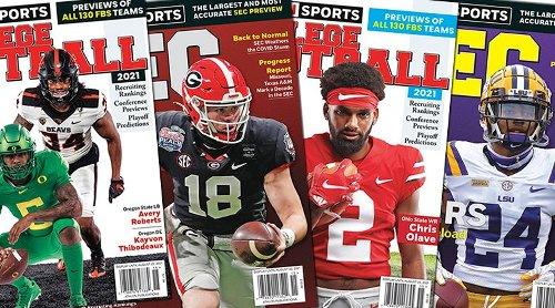 Athlon Sports' 2021 College Football Preview Magazines Available for Purchase Online