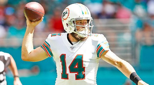 Fantasy Football 5 Up, 5 Down: Ryan Fitzpatrick, Rob Gronkowski Up; Cam Newton, Terry McLaurin Down for Week 4