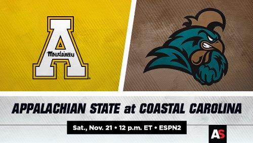 Appalachian State vs. Coastal Carolina Football Prediction and Preview