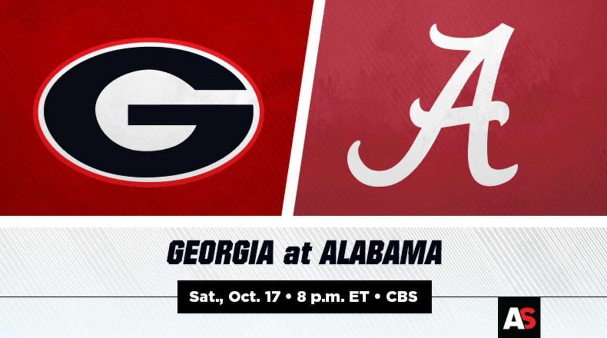 Georgia vs. Alabama Football Prediction and Preview