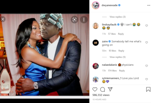 'Petty Levels Is Unmatched': Dwyane Wade Responds After Actor Faizon Love Claims He and Gabrielle Union Had a Heavy Makeout Session In the Past