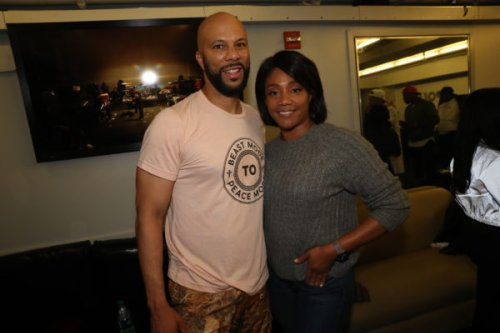 'She Does a Lot to That Leg': Common Gushes Over Tiffany Haddish After She Leaves Him a Special Message