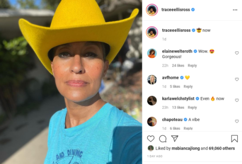 'I Can't Tell Which Is Which': Tracee Ellis Ross Fans Say She Is Aging Backward In 'Then and Now' Photo
