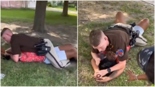 'I Don't Want You to Hurt Me!': Tearful Teen Pleads with Texas Deputy Who Received 911 Call About Someone Walking In Traffic, He Pins Her to the Ground, Her Distraught Mother Gets Arrested