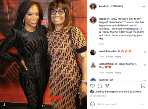 'Mama Was Finna Tell It All': Fans Get a Kick Out of Kandi Burruss' Mom Mama Joyce's Reaction to 'Verzuz' Battle Between Xscape and SWV
