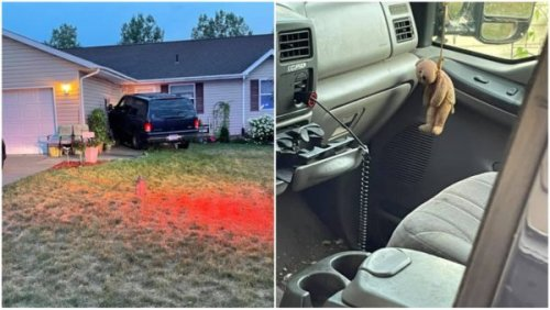 Minnesota Man Reportedly Angry Over BLM Yard Sign Steals His Roommate's Truck, Ignores Restraining Order to Ram the Vehicle Into Black Man's Home