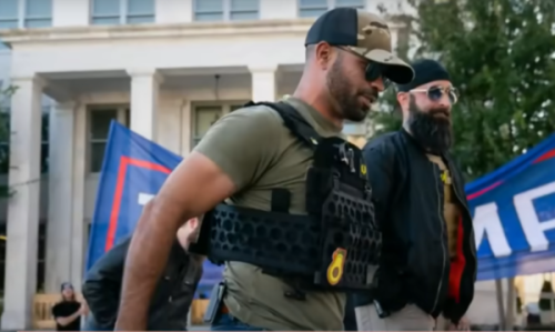 Proud Boys Leader Claims He's Forced to Sell BLM Apparel Through Secret Business Because They're 'Hemorrhaging Money'