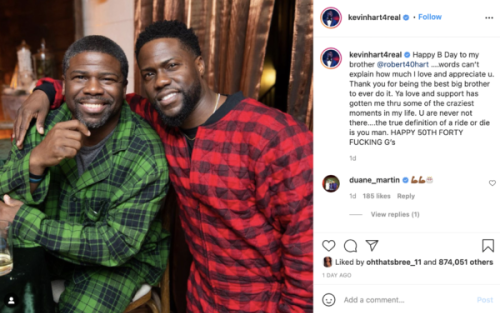 'He Looks Like You from the Future': Kevin Hart Shouts Out Big Brother for His Birthday, Fans Focus on the Crazy Resemblance