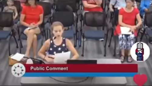 9-Year-Old Minnesota Girl Complains She's Been 'Lied to' Because BLM Posters at Her Elementary School Violate No Politics In Schools Rule: 'I Was So Mad!'