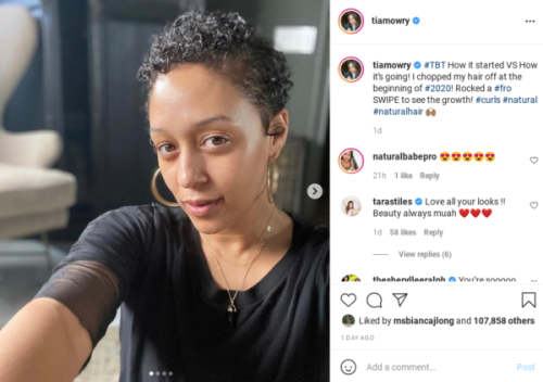 'Mrs. Afro Queen': Tia Mowry Shares a Natural Hair Growth Update Following Her Pixie Cut, Fans Rejoice Over the Results