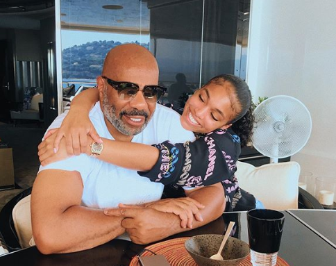 'You Can't Tell Him Anything Right Now': Lori Harvey Says Stepfather Steve Harvey Is 'Feeling Himself' After Praise He's Been Getting for His Outfits