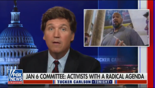 'Smell a Lawsuit????': Tucker Carlson Trashed for Mocking Capitol Officer Who Said He Got N-Word Jeers During Jan. 6 Riot, Implying Cop Is a Pawn of House Democrats