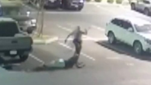 'Disturbing': California Deputy Under Investigation After Video Shows Him Winding Up and Kicking Black Man Who Surrendered