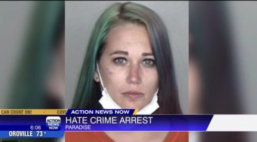 California Woman Charged with Hate Crime After Nearly Running Over Black Traffic Flagman While Shouting Racial Slurs