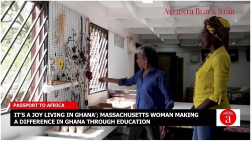 'It's a Joy Living In Ghana': Massachusetts Woman Making a Difference In Ghana Through Education, Environmental Work