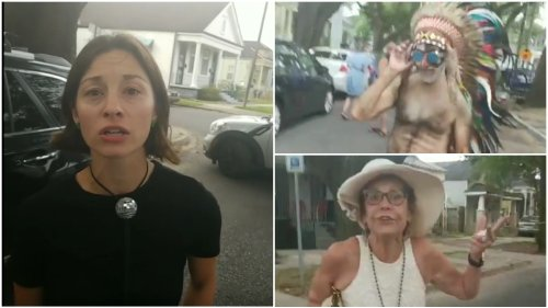 'Where Are You From?': Black Activist's Confrontation with White Woman for Blocking New Orleans Neighborhood Street Without a Permit Devolves Into Chaos