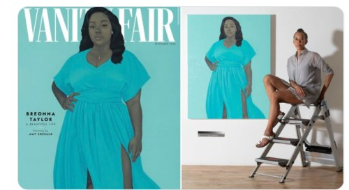 Artist Amy Sherald's Painting of Breonna Taylor Is Now Hanging In Washington's National Museum of African American History