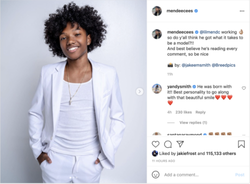 'Omg, He's All Grown': Yandy Smith and Mendeecees Harris' Son's Modeling Pics Leaves Fans Shocked About How Much He Has Grown