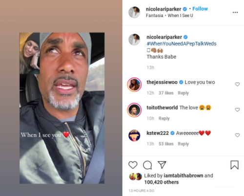 'They've Been Together So Long That They Look Alike': Boris Kodjoe's Pep Talk to Wife Nicole Ari Parker Derails When Fans Say They Favor Each Other