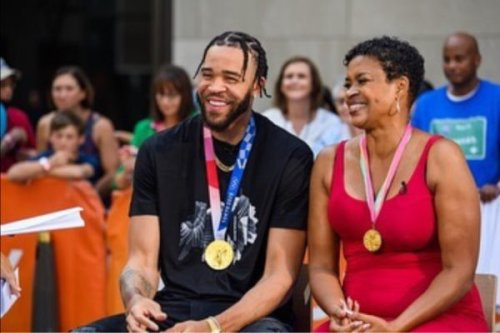 NBA Player JeVale McGhee and His Mother, Former WNBA Star Pamela McGhee, Get Real About Living in Hotels and Enduring Tough Times
