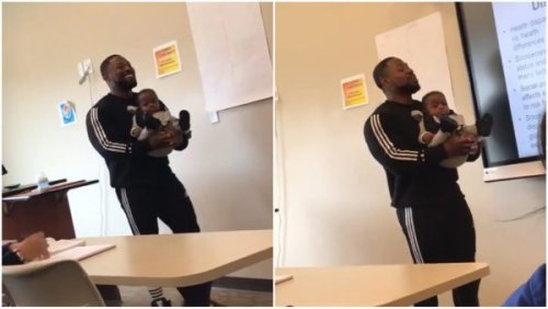 HBCU Professor Tells Student Who Couldn't Find a Babysitter Missing Class Is 'Not an Option,' Holds Her Baby During Lecture In Viral Resurfaced Video