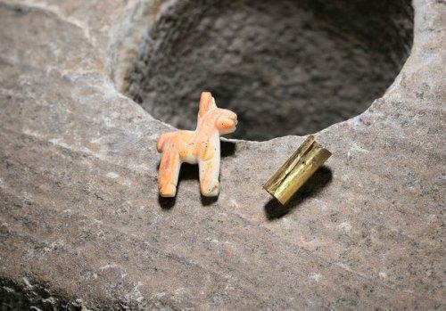 Found: A Miniature Incan Llama at the Bottom of Lake Titicaca