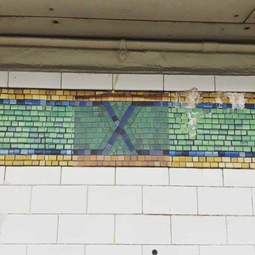 Times Square Station Fake Tiles