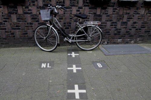 Borders of Baarle-Nassau and Baarle-Hertog