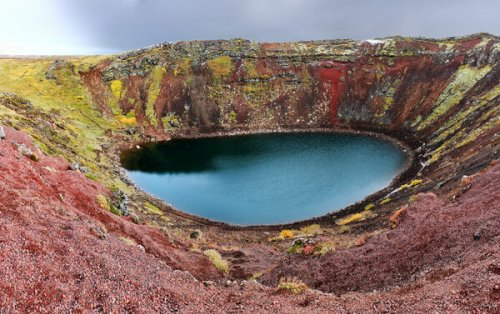 Iceland's Unreal Kerid Crater Lake
