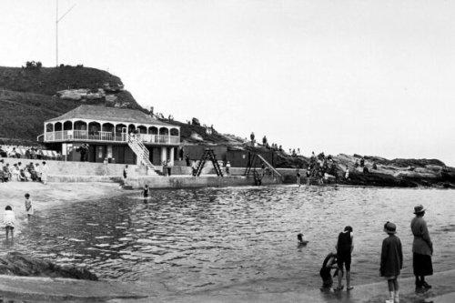 Dunbar Outdoor Pool Remains