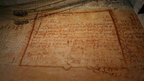 A Secret History of Venice Is Written on the Walls of Its Quarantine Stations