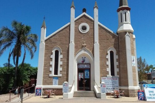 The Fish-and-Chip Shop Housed in an Australian Town's Oldest Stone Church