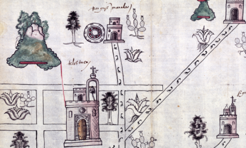 How a 16th-Century Spanish Questionnaire Inspired Indigenous Mapmakers of Mexico