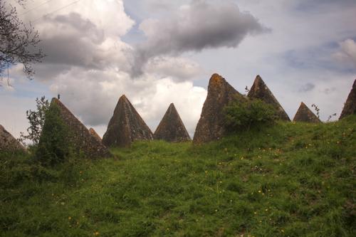 Bekesbourne Tetrahedra Field
