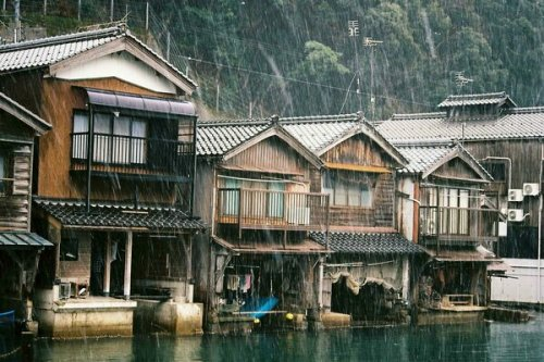 Boathouses of Ine
