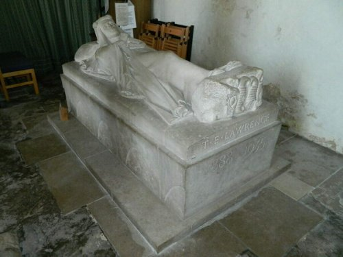 Tomb Effigy of T.E. Lawrence