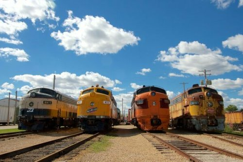 The Largest Train Museum in the United States