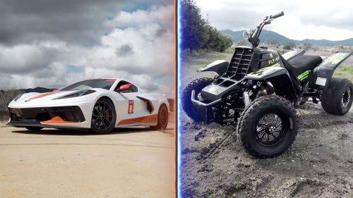 Banshee vs. C8 Corvette