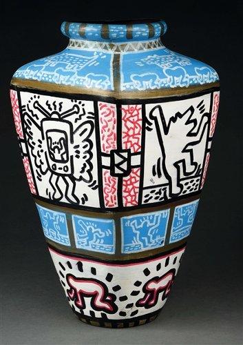 Figural weathervane depicting Native American, rare Keith Haring vase ignite firestorm of bidding at Morphy's $2.6M Fine & Decorative Arts auction