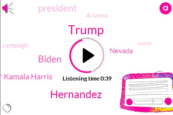 Listen: Biden blasts Trump's 'reckless' visit to Nevada