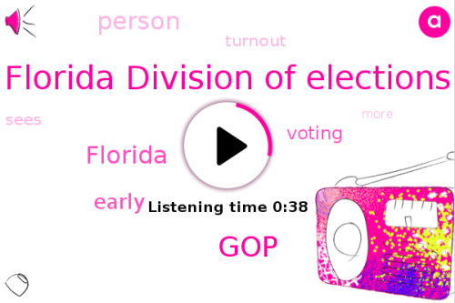 Listen: Early voting battle in Florida causes voter turnout surge