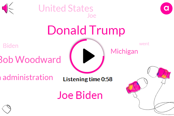 Listen: Biden reacts to Woodward book: Trump 'failed to do his job on purpose'